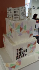 Leeds Arts Party Cake